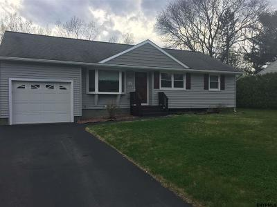 Colonie Single Family Home For Sale: 45 College View Dr