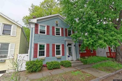 Troy Single Family Home Price Change: 477 Third Av