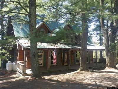 Albany County, Saratoga County, Schenectady County, Warren County, Washington County Single Family Home For Sale: 188 & Off Summit Lake Rd