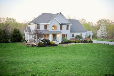 Saratoga County Single Family Home For Sale: 386 Stage Rd