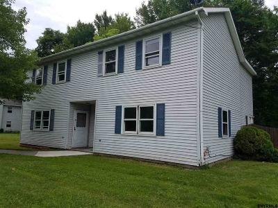Saratoga Two Family Home For Sale: 256 State Route 32