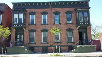 Troy Multi Family Home Price Change: 507/509 Fifth Av