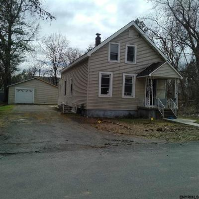 Cohoes Single Family Home For Sale: 5 Tibbits Pl