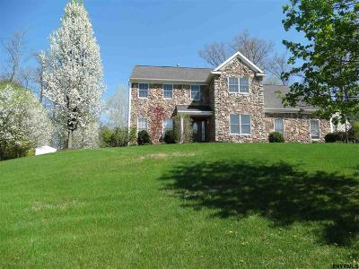 Clifton Park Single Family Home For Sale: 15 Castle Pines
