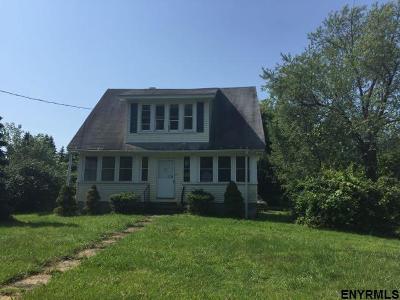 Rensselaer County Single Family Home For Sale: 114 Seaman Av