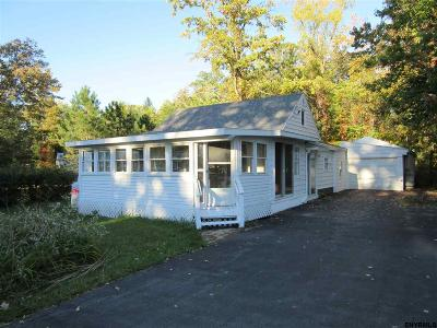 Saratoga Single Family Home For Sale: 1402 Route 9 P