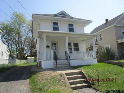 Schenectady Single Family Home For Sale: 909 Harrison Ave