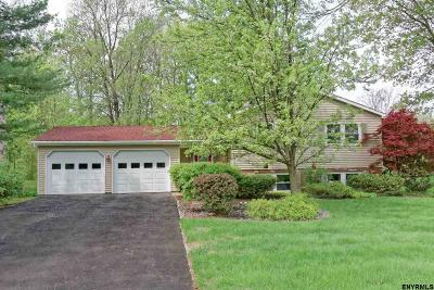 Clifton Park Single Family Home For Sale: 46 Greenridge Dr