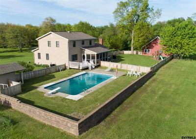 Saratoga County Single Family Home For Sale: 228 Riverview Rd