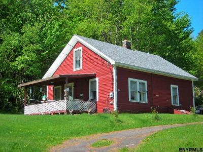 Rensselaer County Single Family Home For Sale: 287 Pine Valley Rd