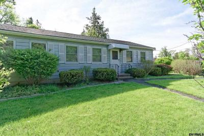 Cohoes Single Family Home For Sale: 27 Montgomery St