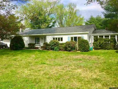 Rensselaer County Single Family Home For Sale: 56 Rockery Ter