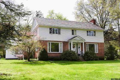 Niskayuna Single Family Home For Sale: 2382 Algonquin Rd