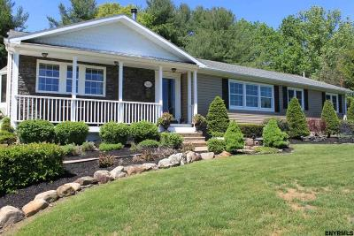 Voorheesville Single Family Home Back On Market: 59 Wormer Rd
