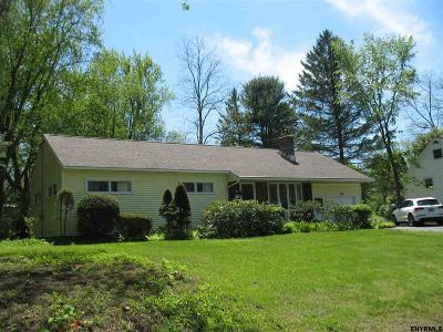 Saratoga County Single Family Home For Sale: 47 Maplewood Dr