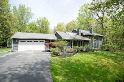 Poestenkill Single Family Home For Sale: 4 Heather Ridge Rd