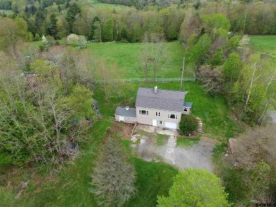 Rensselaer County Single Family Home For Sale: 16637 Ny Rt 22