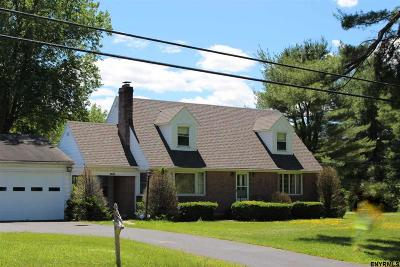 Schenectady County Single Family Home For Sale: 4605 Western Turnpike