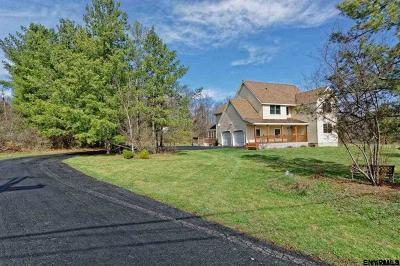Rensselaer County Single Family Home For Sale: 1515 Carney Rd