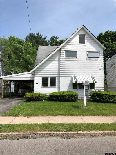 Schenectady Single Family Home New: 305 Eleventh St