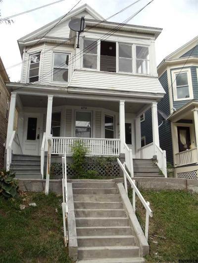 Albany Two Family Home Back On Market: 679 Myrtle Av