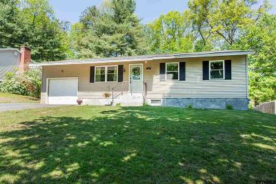 Saratoga Springs Single Family Home New: 58 Trottingham Rd