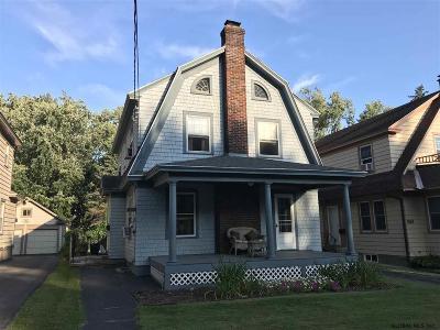 Schenectady Single Family Home New: 814 Rankin Av