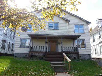 Schenectady Multi Family Home For Sale: 856 Union St