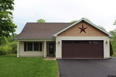 Saratoga County Single Family Home New: 2a Parkhurst Rd