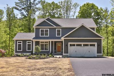 Saratoga County Single Family Home New: 120 Middle Grove Rd