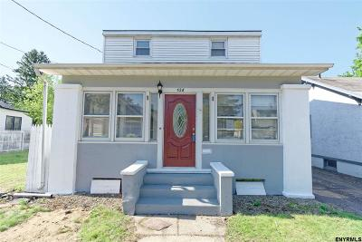 Schenectady County Single Family Home New: 526 21st St
