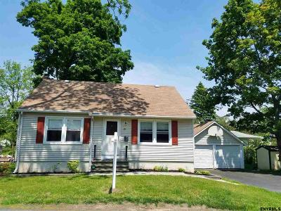 Rensselaer County Single Family Home New: 21 May St