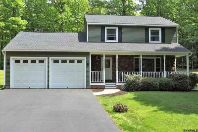 Saratoga County Single Family Home New: 19 Woodland Dr