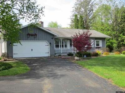 Saratoga County Single Family Home New: 614 Clark Rd