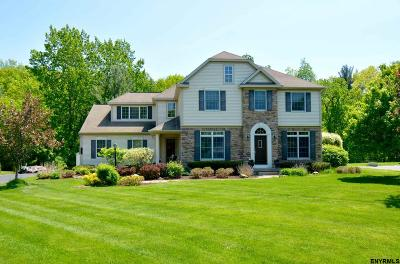 Clifton Park Single Family Home For Sale: 9 Hidden Crest Ct