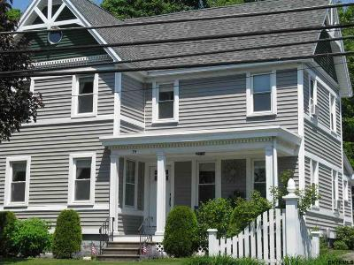 Voorheesville NY Single Family Home Sold: $232,500
