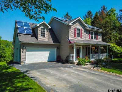 Rensselaer County Single Family Home For Sale: 34 Woodview Rd