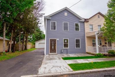 Watervliet Single Family Home For Sale: 116 1st St
