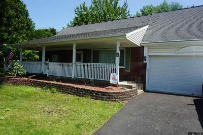 Cohoes Single Family Home For Sale: 9 Dunsbach Ferry Rd