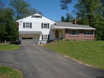 Mechanicville, Stillwater Single Family Home For Sale: 231 County Route 75