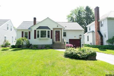 Niskayuna Single Family Home Price Change: 1420 Via Del Mar