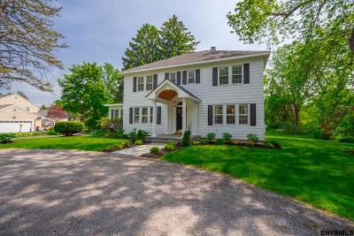 Schenectady County Single Family Home For Sale: 2122 Rosendale Rd