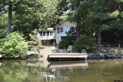 Rensselaer County Single Family Home For Sale: 148 N Shore Rd