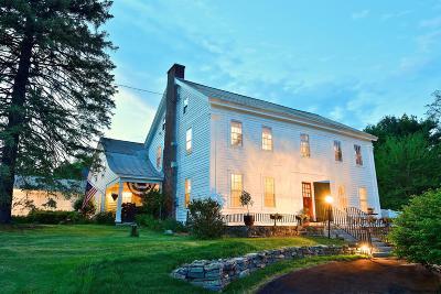 Wilton Single Family Home For Sale: 177 Parkhurst Rd
