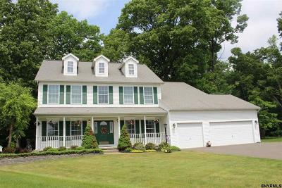 Clifton Park Single Family Home For Sale: 10 Highland Oaks