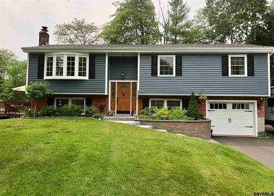 Clifton Park Single Family Home For Sale: 26 Haystack Rd