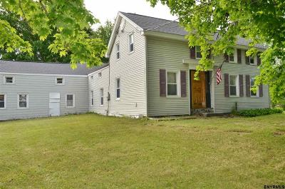 Saratoga County Single Family Home For Sale: 600a Waite Rd