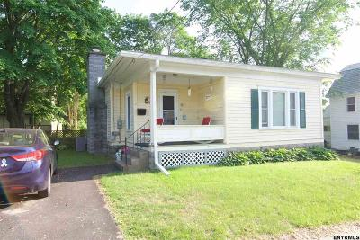 South Glens Falls Single Family Home For Sale: 7 Hamilton St