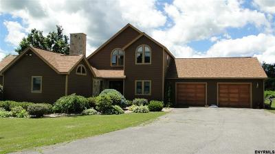 Rensselaer County Single Family Home For Sale: 287 Carrolls Grove Rd