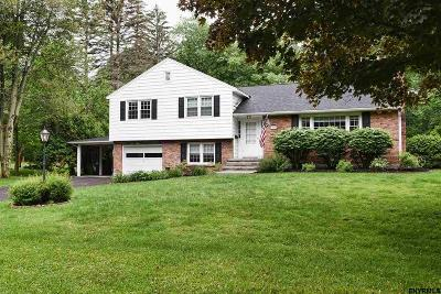 Niskayuna Single Family Home Back On Market: 1035 Onondaga Rd